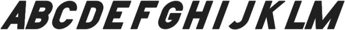 Helton Italic otf (400) Font UPPERCASE