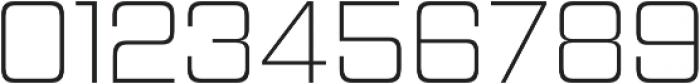 Hemi Head ExtraLight otf (200) Font OTHER CHARS