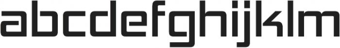 Hemi Head Regular otf (400) Font LOWERCASE