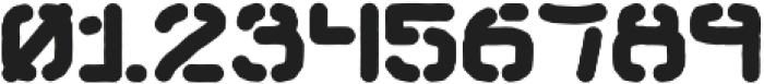 Hemingwar Stencil otf (400) Font OTHER CHARS
