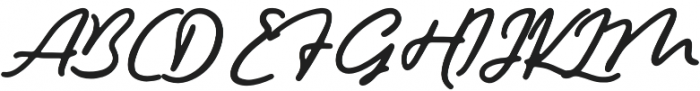 Hemisphers otf (400) Font UPPERCASE