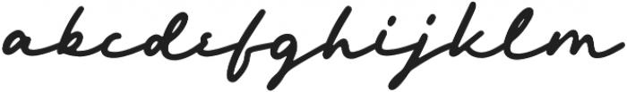 Hemisphers otf (400) Font LOWERCASE