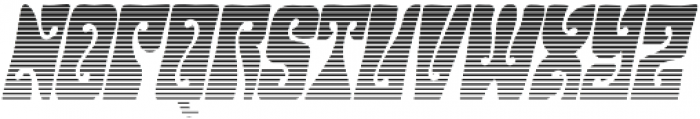 Hendrix Groove Gradient Italic otf (400) Font UPPERCASE