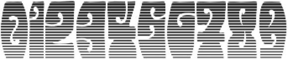 Hendrix Groove Gradient Regular otf (400) Font OTHER CHARS