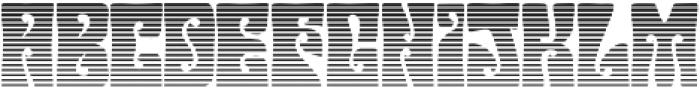 Hendrix Groove Gradient Regular otf (400) Font LOWERCASE