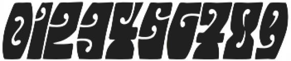 Hendrix Groove Italic otf (400) Font OTHER CHARS
