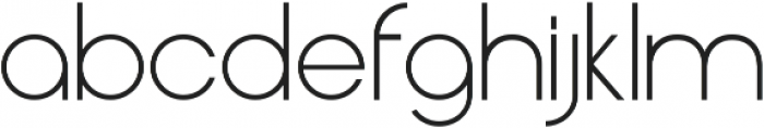 Henerale ttf (300) Font LOWERCASE