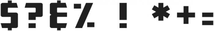 Henrickson otf (400) Font OTHER CHARS