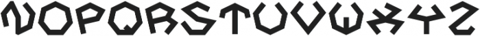 Hepta otf (400) Font LOWERCASE