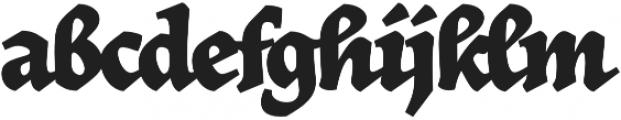 Herb otf (400) Font LOWERCASE