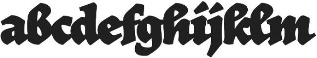 Herb otf (700) Font LOWERCASE