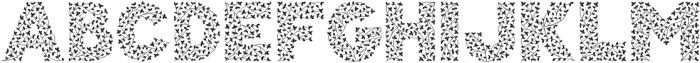 Herbaceous Border otf (400) Font UPPERCASE