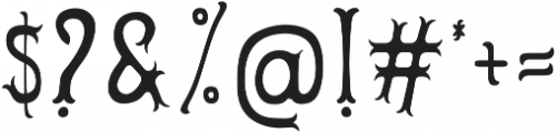 Herbert Lemuel Bold Shadow otf (700) Font OTHER CHARS