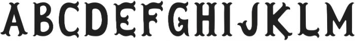 Herbert Lemuel Bold otf (700) Font UPPERCASE