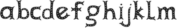 Herbert Lemuel Dots otf (400) Font LOWERCASE