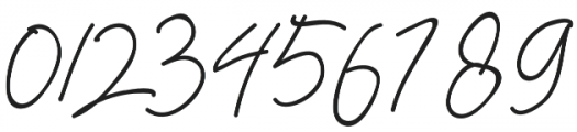 Herbert Signature otf (400) Font OTHER CHARS