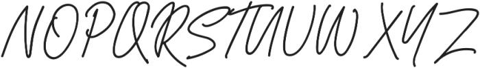 Herbert Signature ttf (400) Font UPPERCASE