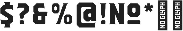 Herchey Serif otf (400) Font OTHER CHARS
