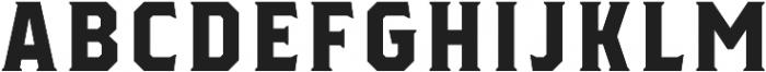 Herchey Serif otf (400) Font UPPERCASE