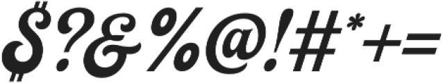Herchey otf (400) Font OTHER CHARS