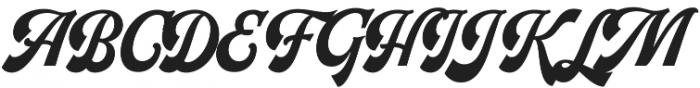 Herchey otf (400) Font UPPERCASE