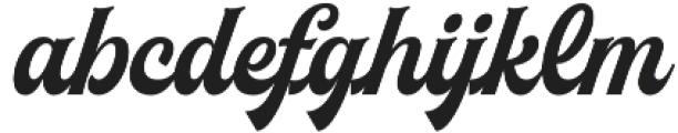 Herchey otf (400) Font LOWERCASE