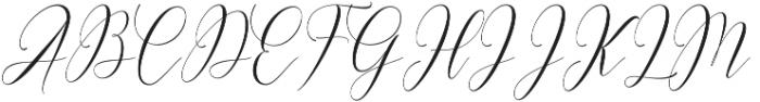 Hercules otf (400) Font UPPERCASE