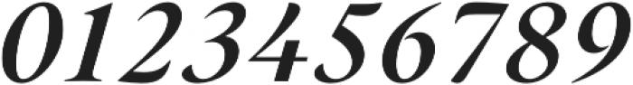 Hermann Black Italic otf (900) Font OTHER CHARS