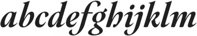 Hermann Black Italic otf (900) Font LOWERCASE