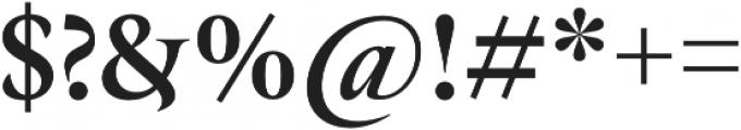 Hermann UltraBold otf (700) Font OTHER CHARS