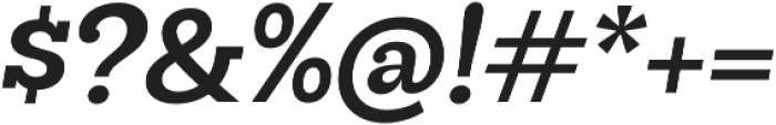 Hernandez Niu Bold Italic otf (700) Font OTHER CHARS