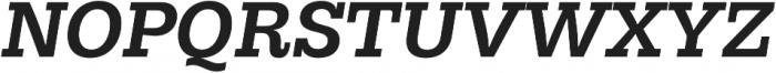 Hernandez Niu Bold Italic otf (700) Font UPPERCASE