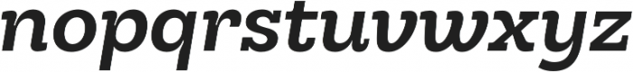 Hernandez Niu Bold Italic otf (700) Font LOWERCASE