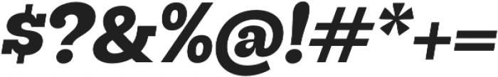 Hernandez Niu UltraBold Italic otf (700) Font OTHER CHARS