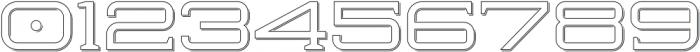 Herradura Outline Shadowed Regular otf (400) Font OTHER CHARS