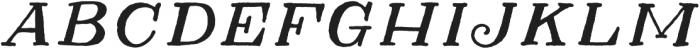 Herschel Regular otf (400) Font LOWERCASE