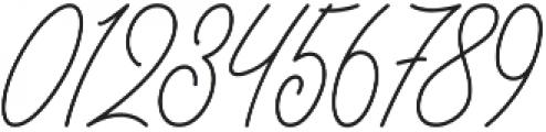 Herschel Script otf (400) Font OTHER CHARS