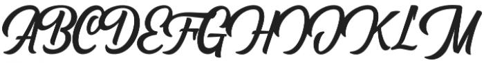 Hersley otf (400) Font UPPERCASE