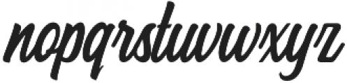Hersley otf (400) Font LOWERCASE