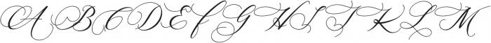 Hertina otf (400) Font UPPERCASE