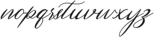 Hertina otf (400) Font LOWERCASE