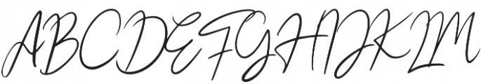 Hesgaki otf (400) Font UPPERCASE