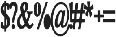 Heulgeul - Bold otf (700) Font OTHER CHARS
