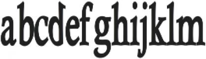 Heulgeul - Bold otf (700) Font LOWERCASE