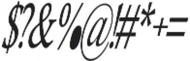 Heulgeul-Italic otf (400) Font OTHER CHARS