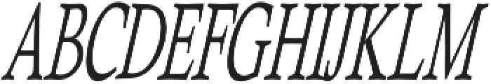 Heulgeul-Italic otf (400) Font UPPERCASE