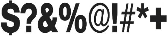 Hexa otf (400) Font OTHER CHARS