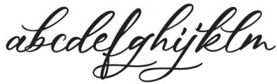 Hey Darling otf (400) Font LOWERCASE