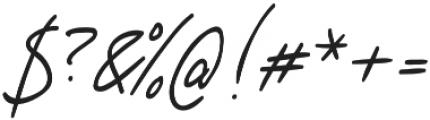 Hey Olivia otf (400) Font OTHER CHARS