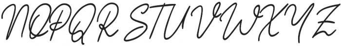 Hey Olivia otf (400) Font UPPERCASE